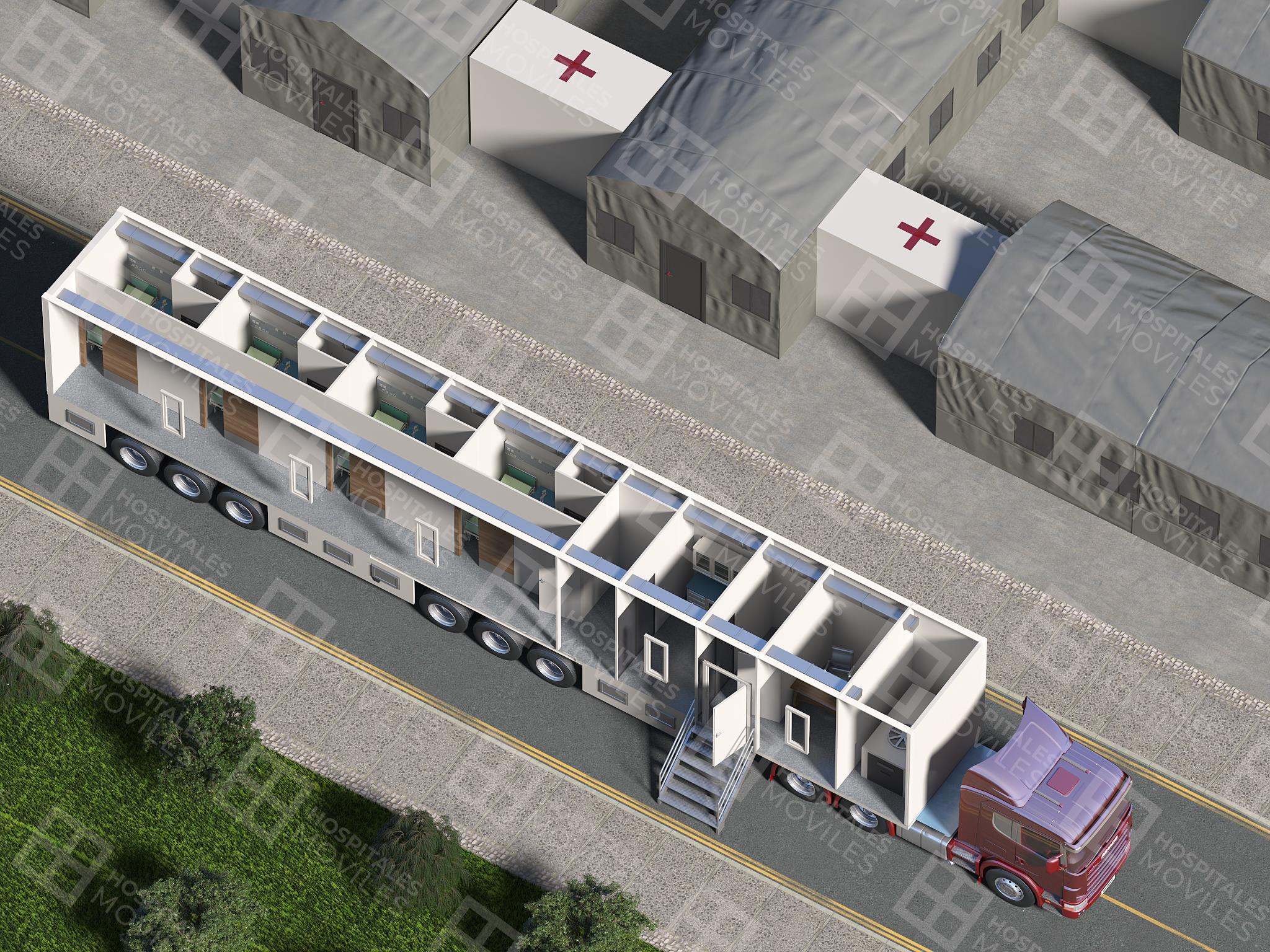 Mobile ICU Unit